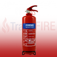 FireShield 2Kg ABC Dry Powder Fire Extinguisher