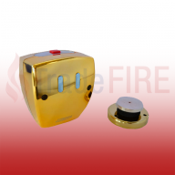 Brass Agrippa Wireless Magnetic Door Retainer