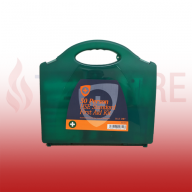 50 Person (90812) Workplace & Statutory HSE Compliant First Aid Kit In Eclipse Case (Blue Dot)