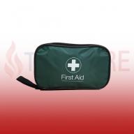 PCV First Aid Kit (30PCVB10) In Green Zip Bag (Blue Dot)