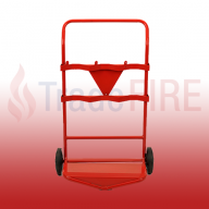Triple Fire Extinguisher Trolley