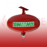 FireShield 6KG Automatic Clean Agent Fire Extinguisher
