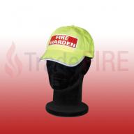 High Visibility Fire Warden Cap