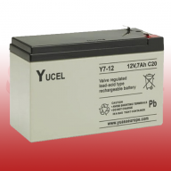 Yucel 12v 7.0Ah Sealed Lead Acid Battery