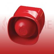 Apollo 55000-278APO XP95/Discovery Addressable Multi-Tone Open Area Sounder (Red)