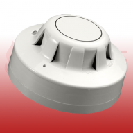 Series 65 Optical Smoke Detector with Flashing LED and Magnetic Test Switch