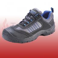 Mesh Active Black / Blue Trainer Shoes