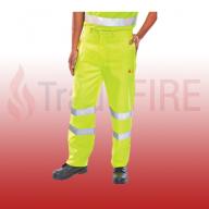 Fire Retardant Anti-Static Saturn Yellow Trousers