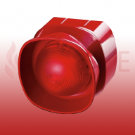 Apollo 55000-293APO Addressable XP95/Discovery Multi-Tone Open-Area Sounder Beacon (Red)