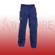 Meppel Multi-Cotton Flame Retardant, Anti-Static Navy Blue Trousers