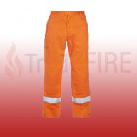 Meddo Multi CVC Fire Retardant Anti-Static Orange Trousers