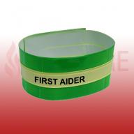 Photoluminescent First Aider Armband