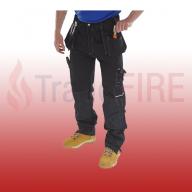 Click Shawbury Multi-Purpose Black Trousers