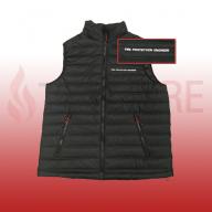 Personalised Fire Protection Engineer Black Bodywarmer