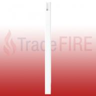 White Self Adhesive Mini Trunking MT2 3m x 16mm x 25mm
