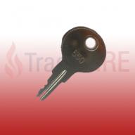 Gent Vigilon VS-KEY 550 Panel Door Key (Pack of 25)