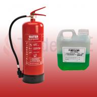 FireShield 9Ltr Water Fire Extinguisher & 900ml Freezol Anti-Freeze