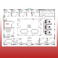 Fire Extinguisher Floor Plan