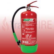 FireChief 6 Litre Lithium Battery Fire Extinguisher