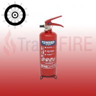 FireChief XTR 2Kg ABC Dry Powder Extinguisher