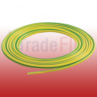 PVC Earth Sleeving 4mm Green/Yellow