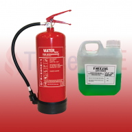FireShield 6Ltr Water Fire Extinguisher & 600ml Freezol Anti-Freeze (Pre-Filled)