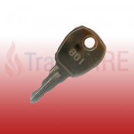 Kentec 801 Fire Alarm Panel Door Key (Pack of 25)