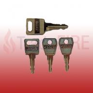 Kentec Fire Alarm Panel Key Set